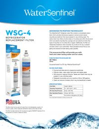 Water Sentinel Wsg 4 Ge Rpwf Compatible Refrigerator Water
